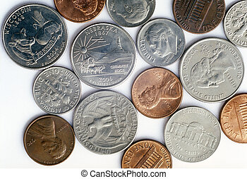 US coins.