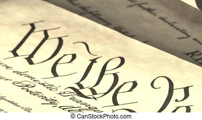 US Constitution - We The People - Constitution of United...