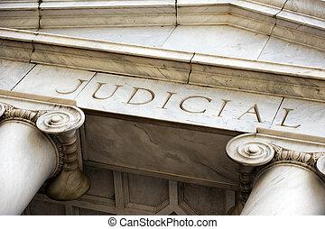 US Courthouse - Courthouse entrance in downtown Atlanta, GA