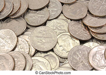 U.S. Dimes Background