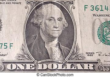 Us dollar , close-up