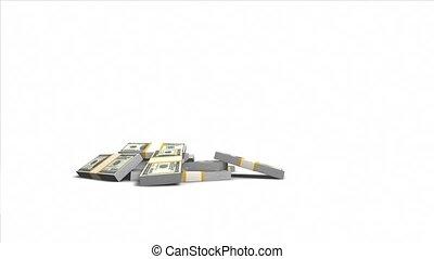 US Dollars and Bar Chart
