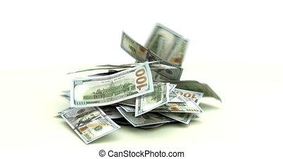 US Dollars falling