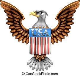 US Eagle Shield Design