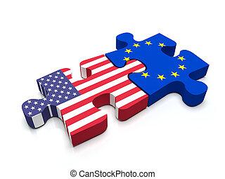 US - European Union Puzzle