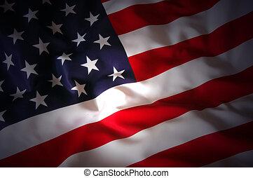 US Flag  - background