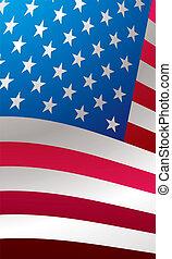 us flag close