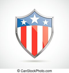 US Flag Protection Shield