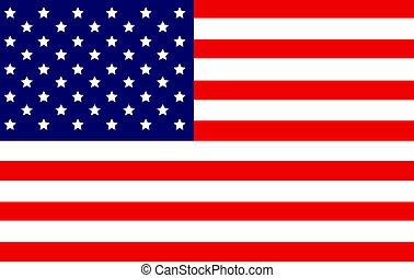 US Flag - USA, United States, Flag, America, us, elections,