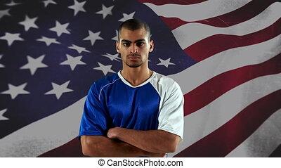 US football player