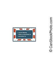 US government concept acronym - Acronym CIA - Central...