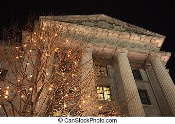 US Internal Revenue Service Building Federal Triangle Pennsylvania Ave Washington DC