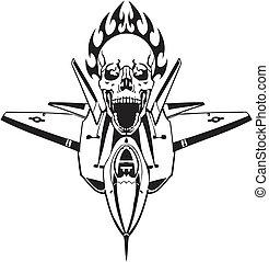 us luftwaffe, -, militaer, design.