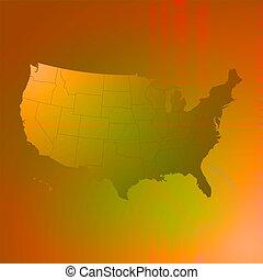 us map brown