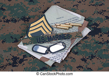 US  Marines concept