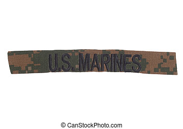 US MARINES uniform badge