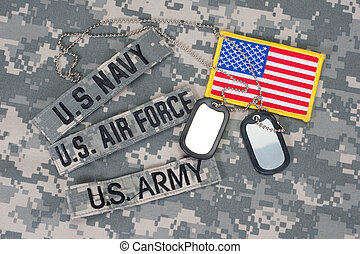 US military concept on camouflage u