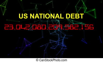 US national debt live clock counter