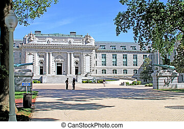 US Naval Academy campus in Annapolis, MD