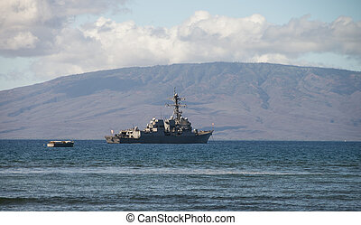 US Naval Ship