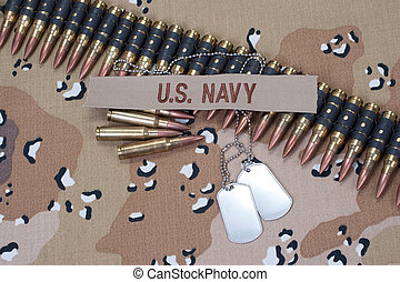 US NAVY concept on camouflage uniform