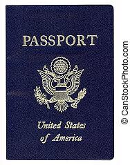 US Passport - United States of America Passport (With...