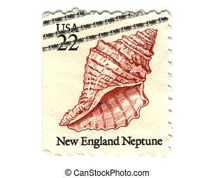 US postage stamp on white background 22c