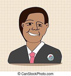 US President Obama theme elements