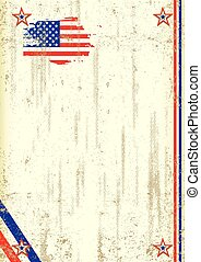 US retro background