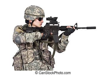 US soldier