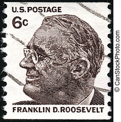 US stamp - USA - CIRCA 1965: A stamp printed in USA showing...