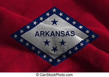 U.S. state flag of Arkansas