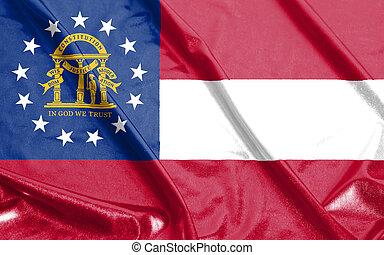 U.S. state flag of Georgia