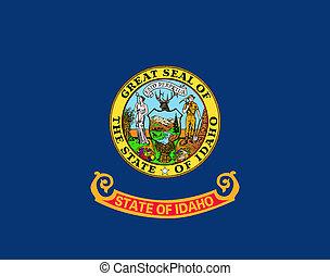 U.S. state flag of Idaho