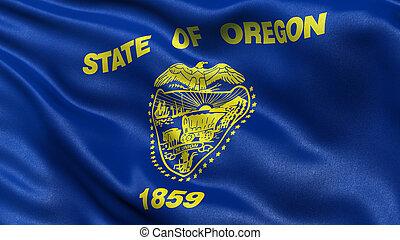 US state flag of Oregon