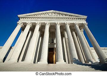 US Supreme Court in Washington DC daytime