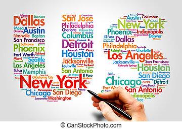 US, travel concept