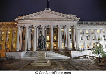 US Treasury Department in Washington D.C