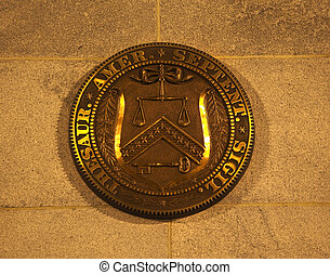 US Treasury Department Seal Washington DC - US Treasury...