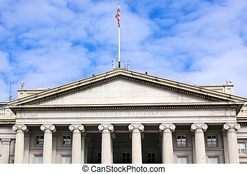 US Treasury Department Washington DC - US Treasury...