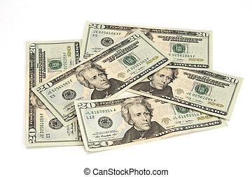 U.S. twenty dollar Banknotes