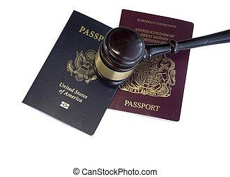 US UK EU Law legal concept image