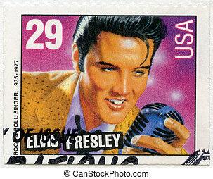 USA - 1993: shows Elvis Presley, American Music Series -...