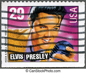 USA - 1993: shows Elvis Presley, American Music Series