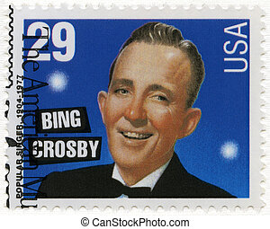 USA - 1994: shows Bing Crosby (1903-1977)