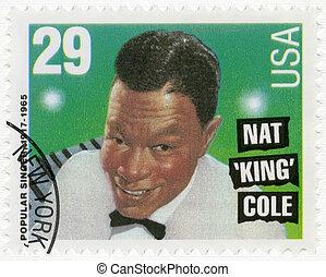 USA - 1994: shows Nat King Cole (1919-1965) - USA - CIRCA...