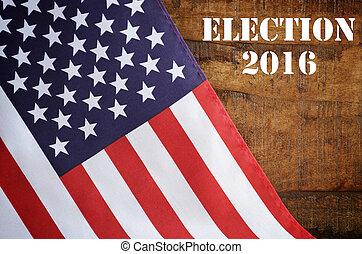 USA 2016 Presidential Election Flag - USA 2016 Presidential...
