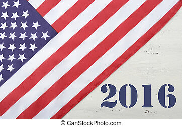 USA 2016 Presidential Election Flag - USA 2016 Presidential...
