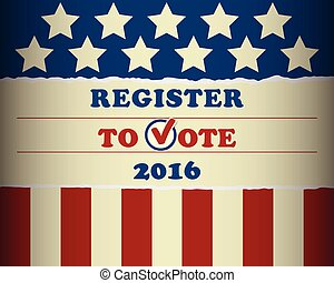 USA 2016 Register To Vote