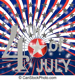 USA 4th july background.